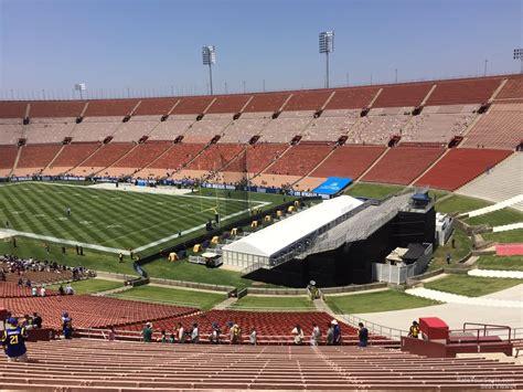 Los Angeles Memorial Coliseum Section 1 Rateyourseats Com