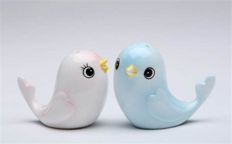 ceramic salt and pepper shakers two birds ceramic salt and pepper shakers set of 4