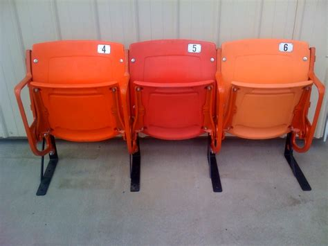 Stadium Chairs For Sale by Atlanta Fulton County Stadium Seats For Sale