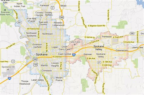 spokane map blogography