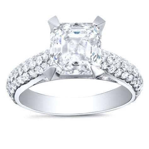 Micro Pave Engagement Rings by Micro Pave Engagement Ring