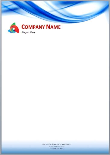 Business Letterhead Design Templates Free 33 Free Letterhead Templates In Word Excel Pdf