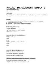 Project Management Report Template Best Photos Of Final Report Format Project Report Format
