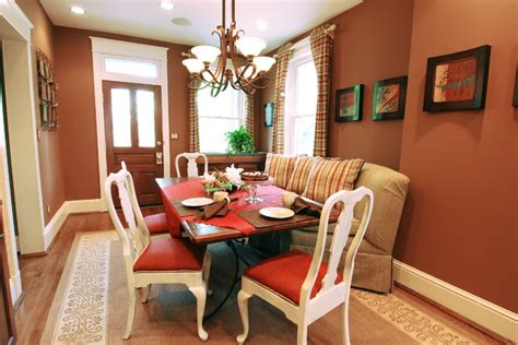 Historic Dining Room Colors Intimate And Inviting Historic Renovation Eclectic