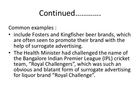 Mba Challenged Brand by Types Of Advertisements