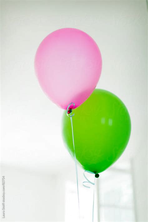 Putting It Together Green Pink by Complementary Colours Green And Pink Balloons Together By