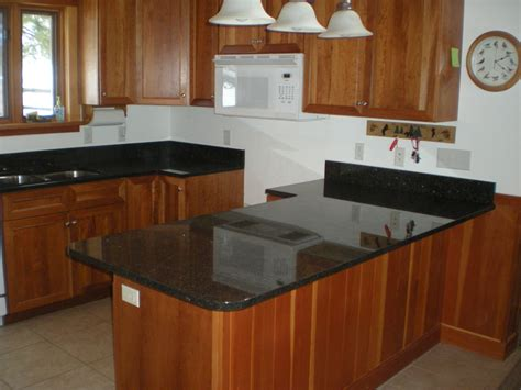 Black Granite Countertop a mesabi black granite countertop install huisman concepts