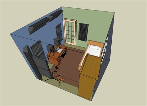 Free House Layout by Soundacoustics Products Now In Sketchup 3d Warehouse