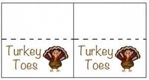 Snack Table Turkey Toes Free Printable Saving Dollars And Sense
