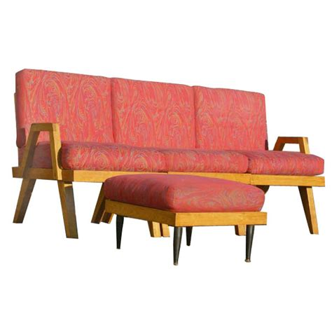 Mid Century Modern Sofa Bed 1 Mid Century Modern Day Bed Sofa Ebay