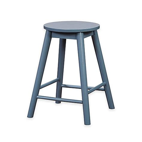 30 Inch Kitchen Counter Stools by Buy Denville 30 Inch Backless Counter Stool In Blue From