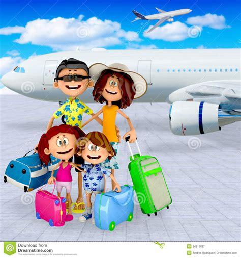 imagenes vacaciones con la familia vacaciones de familia 3d fotograf 237 a de archivo libre de