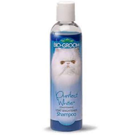 Biogroom 8 Oz Cat Purrfect White Coat Brightener Shoo bio groom purrfect white conditioning coat brightener