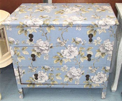 decoupage furniture with wallpaper 20 best papered furniture