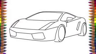 How To Draw A Lamborghini Easy How To Draw A Lamborghini Step By Step For Step 3 How