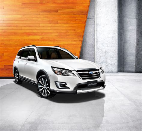 2015 Subaru Exiga Crossover 7 Is Ready To Serve Japanese