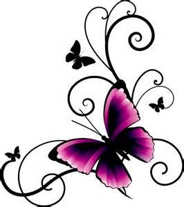 Wall E Stickers sticker adesivo con farfalla livingdeco