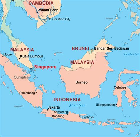 singapore map asia getting around ports of call singapore
