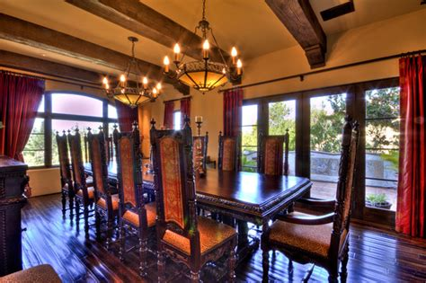 1929 Spanish Revival Mediterranean Dining Room other metro by Jay Andre Construction, Inc.
