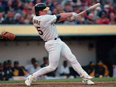 mark mcgwire swing mark mcgwire photo 1 pictures cbs news