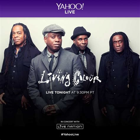 live in living color living colour news