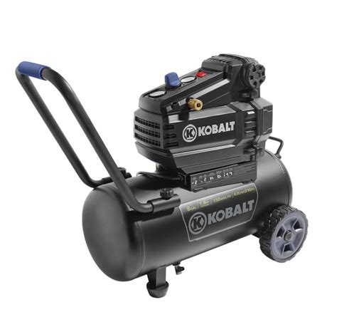new kobalt 8 gal tank portable 150 psi free electric air compressor 1 8 hp ebay