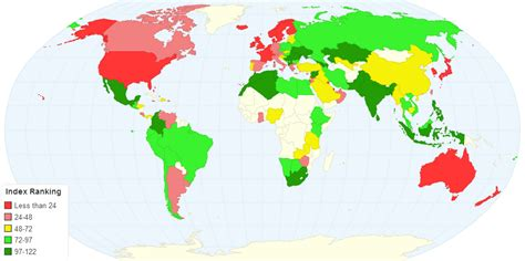 living index cost of living index 2016 vivid maps