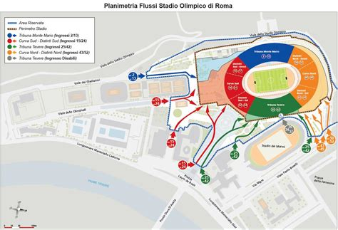 ingressi stadio olimpico roma sei nazioni all olimpico il vademecum come arrivare
