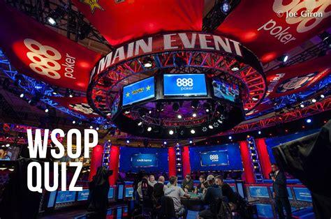 world series  poker quiz     main event pokernews