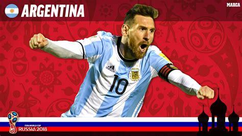 mundial 2018 rusia argentina encomendados a messi para