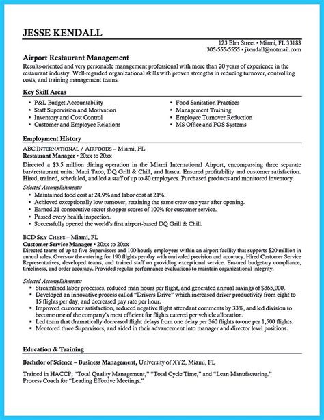 Restaurant General Manager Resume by Restaurant General Manager Resume Lifiermountain Org