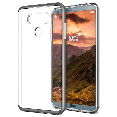 Vrs Design Verus Lg G6 Bumper Series Shine Gold protection from day one vrs design launches 5 new cases for the lg g6