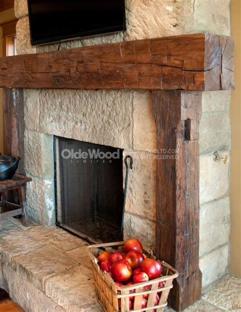 fireplace mantels deco rustic fireplace