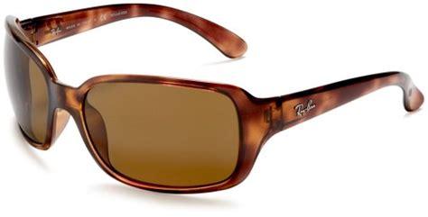 Original Ban Rb4068 Polarized Sunglasses Tortoise ban rb4068 oversized wrap sunglasses 60 mm polarized