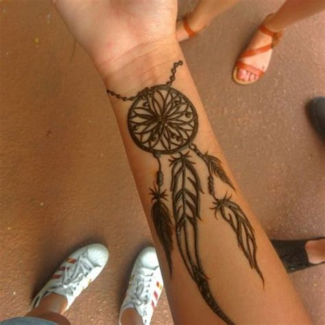 henna tattoo ideas dreamcatcher 9 inspiring henna tattoos go hippie chic