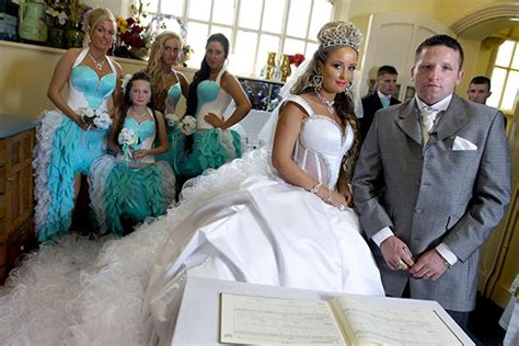 in pictures channel 4 s big wedding
