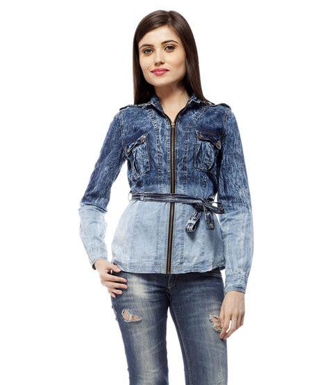denim jackets india buy stylestone blue denim denim jackets at best