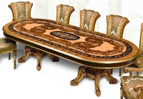 Luxury Dining Tables 11 Luxury Dining Furniture Exquisite Empire Style Dining Set