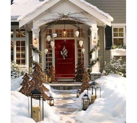 Winter Front Door Decorating Ideas Winter Front Door