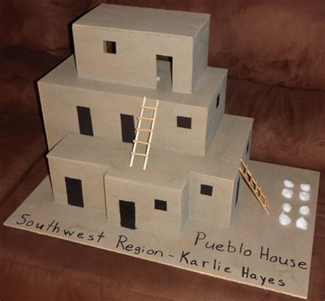 pueblo houses school projects southwest region native american pueblo house blessings multiplied