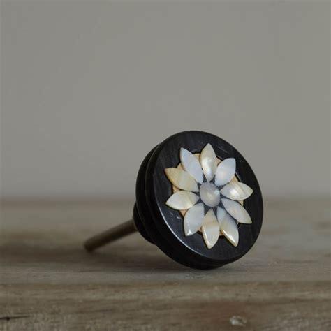 of pearl flower door knob door knobs