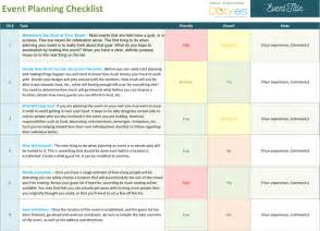 conference event planning checklist template event planning checklist to keep your event on track