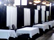 pipe and drape chicago pipe and drape booth rental in chicago and suburbs