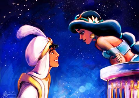 disney wallpaper deviantart walt disney couples princess jasmine prince aladdin in love