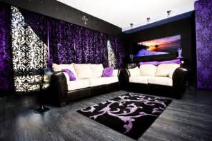 Woman Bedroom Ideas black and purple gothic style living room ideas with lace