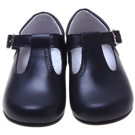 toddler shoes uk baby and toddler navy leather t bar shoes cachet