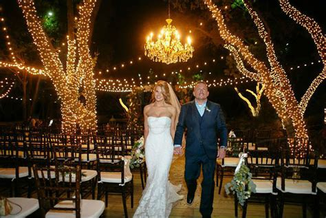 outdoor wedding lights wrapped tree lights dallas landscape lighting