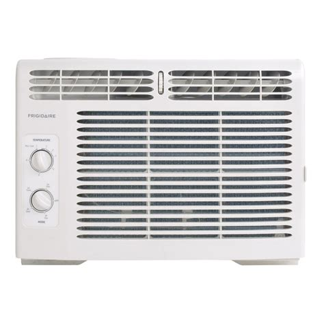 ac unit for room shop frigidaire 5000 btu 150 sq ft 115 volt window air conditioner at lowes