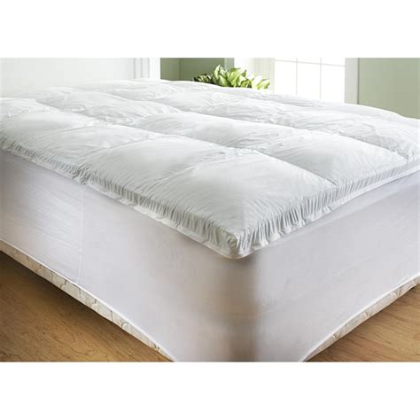 King Size Bed Foam Topper Homedics 174 King Size Rx Memory Foam Topper 183981 Quilts At Sportsman S Guide