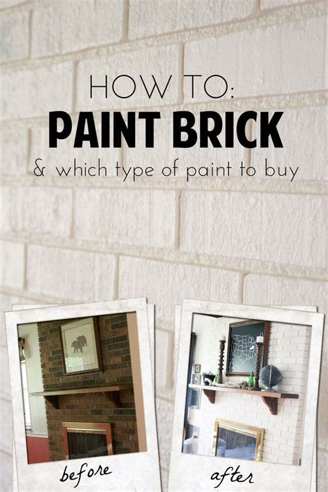 What Type Of Paint To Use On Brick Fireplace 25 best ideas about paint brick on painting